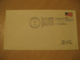 OSWEGO 1981 Flag Flags Cancel Cover USA - Covers