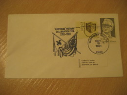 GLOUCESTER POINT 1981 Victory Flag Flags Cancel Cover USA - Buste