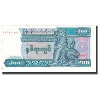 Billet, Myanmar, 200 Kyats, 1996, KM:75a, SPL - Myanmar