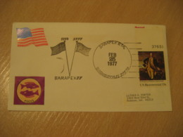 SARASOTA 1977 Flag Flags Cancel Cover USA - Covers