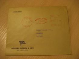 HALSINGBORG 1963 To Zaandam Holland Morgan Wedlin & Son Meter Mail Cancel Cover SWEDEN - Covers