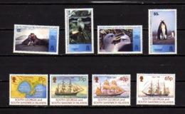 Géorgie Du Sud 1994, Faune Arctique, Capitaine Larsen, 251 / 258**, Cote 19 € - Géorgie Du Sud