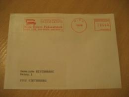 WIEN 1996 Fahnenfabrik Flag Flags Meter Mail Cancel Cover AUSTRIA - Covers