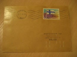 TAMPERE 1978 Flag Flags Stamp On Cover FINLAND - Briefe
