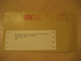 OXFORD 1967 Buy British Encyclopaedia Flag Flags Meter Mail Cancel Cover ENGLAND - Briefe