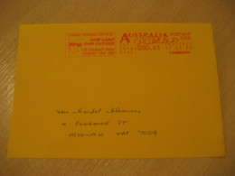 HOBART 1998 Tasmanian Aboriginal Centre Flag Flags Postage Paid Cancel Cover AUSTRALIA - Covers