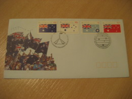 CANBERRA 1991 Parliament House Flag Flags FDC Cancel Cover AUSTRALIA - Briefe