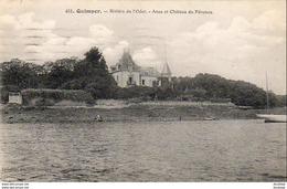 D29  QUIMPER  Rivière De L' Odet- Anse Et Château Du Pérénou  ..... - Quimper