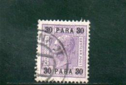 LEVANT 1907-8 O - Oriente Austriaco