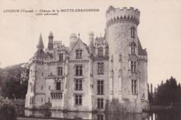 LOUDUN - Château De La Motte-Chandenier - Loudun