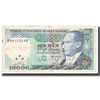 Billet, Turquie, 10,000 Lira, 1970, 1970-10-14, KM:200, TTB - Turkije