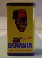 Boites. Banania. Y' A Bon .... Le Petit Déjeuner Chocolaté. Dos Café - Boîtes