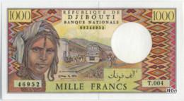 Djibouti 1000 Francs (P37e) -UNC- - Gibuti