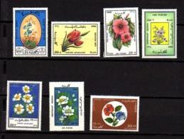 Afghanistan 1987, Fleurs,Blumen, Flowers,  Yv. 1381 / 1387**, Cote 9 € - Plants