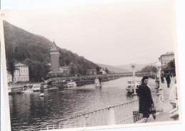 AK-11499 - Privatfoto - Brücke über Die Ems - Bad Ems - Places