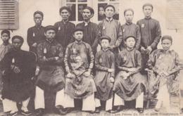 ANNAM - Hué - Les Frères Du Roi Et Leurs Précepteurs - Vietnam