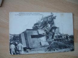 Novion Porcien Le Tamponnement Du 9 Novembre 1906 Train - Francia