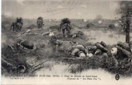 Bataille De La Marne (6, 13 Sep. 1914) Dans Les Marais De SAINT GOND    (117659) - War 1914-18