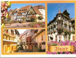 Colmar : La Petite Venise, Les Remparts D'Eguisheim, Maisons à Pans De Bois - Colmar