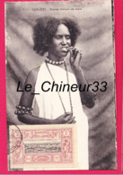 DJIBOUTI---Femme Frottant Ses Dents - Djibouti