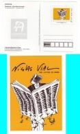 PAP Entier Musée De La Poste, Nicolas VIAL, Illustrateur, Journalisme, Presse, Le Monde - PAP: TSC En Semi-officiële Bijwerking