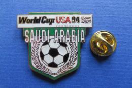 Pin's,Sport,WORLD CUP USA 94,SAUDI ARABIA,ball,soccer,ville - Fussball