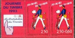 """FR YT P2793Aa Paire Vignette """" Journée Du Timbre """" 1993 Neuf** - France"""