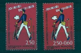 """FR YT 2792 & 2793 """" Journée Du Timbre, La Distribution """" 1993 Neuf** - France"""