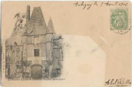 D18 - AUBIGNY - CHÂTEAU FACADE PRINCIPALE - PRECURSEUR - Aubigny Sur Nere