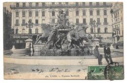 69 - LYON - Fontaine Bartholdi - éd. H. D. N° 282 - 1908 - Lyon 1