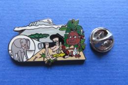 Pin's,BD,ville,AFRIQUE,KENIA,Elephant,jumelle,lance,limité Nr.009 - Pin's