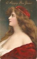 """""""A. Asti. Pretty Lady. Long Hair"""" Tuck Connoisseur  Series PC # 2754 - Tuck, Raphael"""