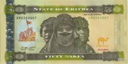 Erythrée 50 Nakfa (P9) 2011 (Pref: AM) -UNC- - Erythrée