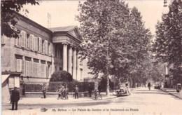 19 - Correze -  BRIVE  - Le Palais De Justice Et Le Palais - Brive La Gaillarde