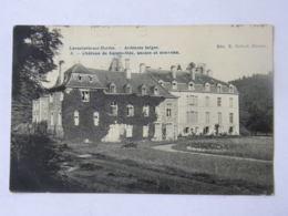 CPA BELGIQUE - Lavacherie Sur Ourthe - Ardennes Belges - 3 Château De Sainte-Ode, Ancien Et Nouveau - Sainte-Ode
