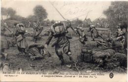 Bataille De La Marne (6, 13 Sep. 1914) Prise Des Tranchées Allemandes Entre VILLOTTE Et LOUPPY LE CHATEAU 117676) - War 1914-18
