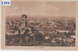 """(2356 ) Cartolina """" BRA - PANORAMA-   (CUNEO)  Formato PICCOLO - VIAGGIATA 1928 - Cuneo"""