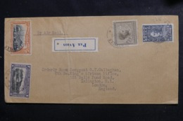 CONGO BELGE - Enveloppe De Albertville Pour Londres Par Avion, Affranchissement Plaisant - L 46348 - Congo Belge