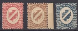 INGRIA - 1920 - Lotto Di 3 Valori Nuovi MNH: Yvert 2, 3 E 4. - Finland