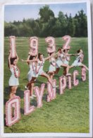 Foto Cromo Olimpiada De Los Ángeles. 1932. Nº 2. Hecho En 1936 Para Olimpiada De Berlín. Alemania. Pre II Guerra Mundial - Trading Cards