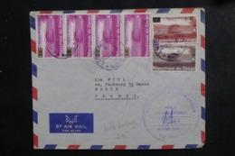 CONGO - Enveloppe Pour La France En 1965 , Affranchissement Plaisant Dont Surchargés - L 46349 - République Démocratique Du Congo (1964-71)