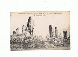 62_ LOCON_ Les Ruines De L'église - Altri Comuni