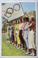 Foto Cromo Olimpiada De Los Ángeles. 1932. Nº 4. USA. Hecho En 1936 Para Olimpiada De Berlín. Alemania. Pre II Guerra M - Trading Cards