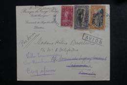 CONGO BELGE - Enveloppe Commerciale De Léopoldville Pour La Belgique En 1930 , Affranchissement Plaisant - L 46351 - Congo Belge