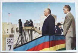 Foto Cromo Olimpiada De Los Ángeles. 1932. Nº 12. USA Charles Curtis. Hecho En 1936 Para Olimpiada De Berlín. Alemania. - Trading Cards