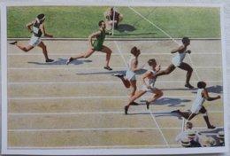 Foto Cromo Olimpiada De Los Ángeles. 1932. Nº 16. Atletismo 100 Metros, USA Tolan, Metcalfe, Alemania Jonath - Tarjetas
