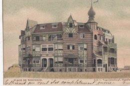 WESTENDE / VILLA S OP DE ZEEDIJK  1905 - Westende