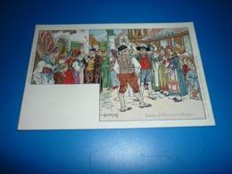 Carte Postale  Usages & Coutumes D'Alsace Louage Des Servantes  Alsace N°12 - Other
