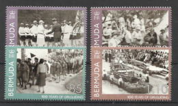 BERMUDA  2010  100 YEARS OF GIRLGUIDING SET MNH - Bermuda