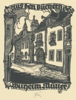 Ex Libris Wilhelm Muller - Otto Feil Gesigneerd - Ex-libris